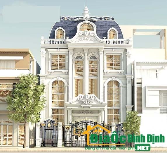 Tổng quan kiến trúc biệt thự cổ điển 2 tầng kiểu pháp tại Q9-TP.HCM